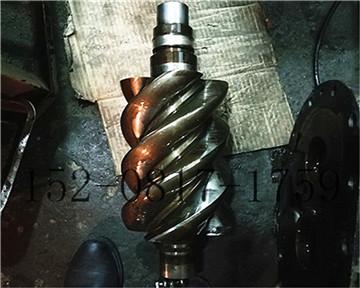 成都某印染厂英格索兰空压机主机维修
