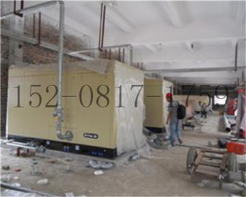 成都某建筑工地螺杆空压机维修