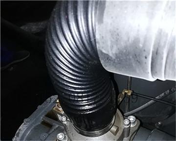 大邑某塑料管道公司空压机变频器维修