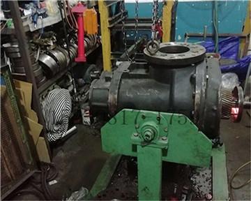 某军工企业250KW螺杆空压机主机大修